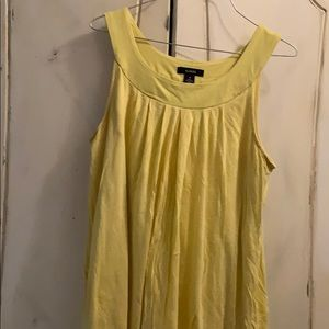 Alfani Yellow tank top